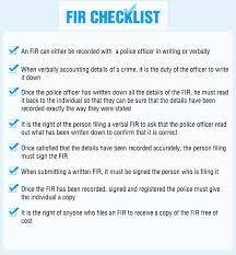 Reporting A Crime All About Lodging An F I R With The Police