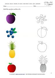 Free Printable Matching Worksheets Free Printable Color Matching ...