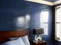 paint finishes for wallsHow to Add a Wet Effect to Walls With Glossy Paint  HGTV