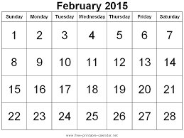 february 2015. Beautiful February February 2015 Calendar Clipart  ClipartFest Png Library Stock In 1