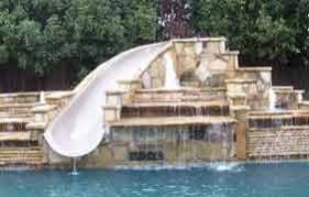 inground pools with diving board and slide. Kids Slides Can Be Less Expensive Than Diving Boards. If You Have Spent The Money Inground Pools With Board And Slide E