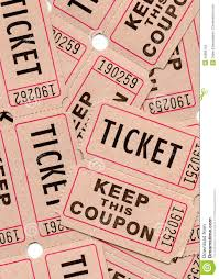 Raffle Event Retro Vintage Tickets And Coupons Stock Photo Image Of Number