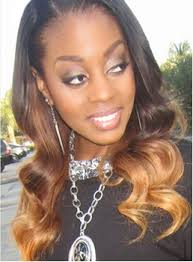 1b 33 27 3 tone ombre virgin human hair body wave weave 1 pc