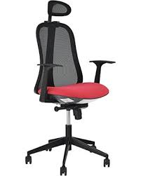 high back mesh office chair with leather effect headrest. merax ergonomic office chair high back mesh home desk modern executive chairs with leather effect headrest t