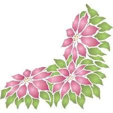 Poinsettia Designs Poinsettia Designs Stencils Google Search Christmas