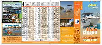 2013 Tide Chart Dl Panel Tide Charts For Gold Coast Seaway And Brisbane Bar