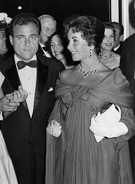 mike todd elizabeth taylor. Brilliant Elizabeth Liz Taylor And Her Husband Michael Todd Visiting Intended Mike Elizabeth