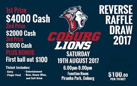 Reverse Raffle Rules Coburg Fc Reverse Raffle The Official Website Of The