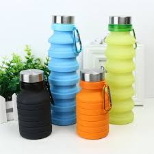 New <b>Creative Design</b> Collapsible Foldable Water Bottle <b>BPA Free</b> ...