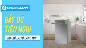Tủ lạnh Beko 93L: mini nhưng vẫn tiện nghi, dành cho sinh viên, công nhân  (RS9051P) • Điện máy XANH - YouTube
