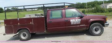 1998 Chevrolet 3500 Crew Cab utility truck | Item L6233 | SO...