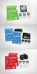 Electronic Brochure Template Electronic Products Flyer Template Promotion Flyer