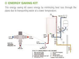 Gas Water Heater Installation Kit Kwi050dhw2 And Kitrd01 50l Rointe Kyros Unvented Electric