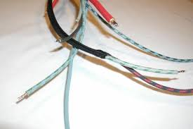 zar werks parts the wires in the earliest versions of these harnesses are cloth covered pvc wires in the correct colors cloth braided pvc gives the insulation and