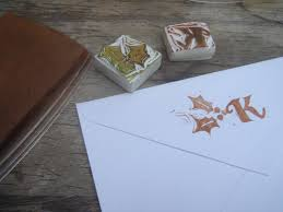 stamp your image on the back of your envelope