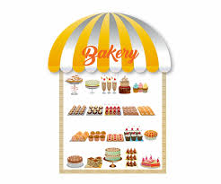 Bakery Window Awning Bakery Shop Storefront Free Png Images