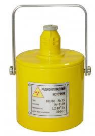 Контрольный источник в контейнере ООО НПП Доза  Контрольный источник 101 06 в контейнере