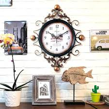 large antique wall clocks large vintage wall clocks large retro digital metal wall clock home decor large antique wall clocks