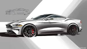 2018 ford hd. contemporary 2018 2018 ford mustang  design sketch wallpaper and ford hd