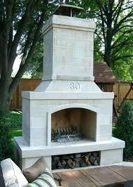 prefab outdoor fireplace kit s modular kits uk