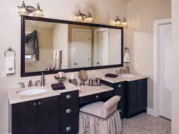 double vanity with makeup area. Double Sink Bathroom Vanity With Makeup Area And Double Vanity With Makeup Area