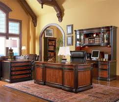 fancy home office. Office:Winsome Luxury Home Office Design With Pale Wall Paint Also Brown Varnished Table Fancy N