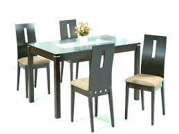 annika dining table and 4 chairs bench for gumtree ikea white glass sets set top