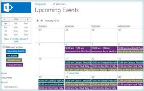 Online Office Calendar Calendar Overlays In Sharepoint 2013 And Sharepoint Online Office