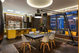 lighting room. Add An Extra Lighting Element To Your Dining Room With A Stylish Floor Lamp. Lamp Can Be Placed In Nearly Every Corner.