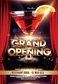 Free Grand Opening Flyer Template Grand Opening Free Flyer Psd Template By Elegantflyer