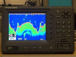 Chart Plotter For Sale Furuno Gp 1650wf Chart Plotter Gps Depth Finder