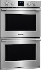 frigidaire professional 30 double electric wall oven stainless steel fpet3077rf