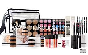 professional makeup kits. this professional makeup kit was designed to flatter medium skin tones and can be customized include our most popular artist train case or pro kits a