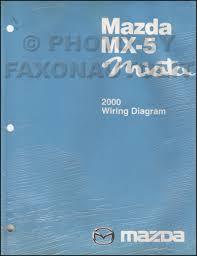 2000 mazda mx 5 miata wiring diagram manual original