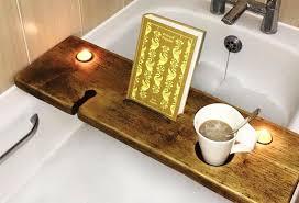 Tablet Holder - Bath Book Holder- Ipad Bath Tray - Magazine Holder - Phone  Rest - Phone Tray - Ipad - Wine and Book Tray - Mug Holder -