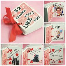 valentines day surprise for him 52 cards 17 last minute handmade valentine gifts for him