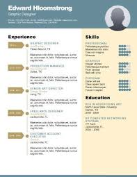 Unique Resume Templates Free Impressive Career Diagram Free Resume Template By Hloom Branding