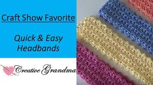 Easy Crochet Headband Pattern Simple Design