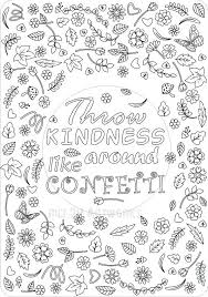 Partying With Confetti Coloring Pages Coloring Pages For Children