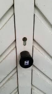 garage door lock enter image description here doors garage lock garage door lock shark tank
