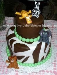 Baby Shower Safari Cakes