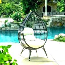 hanging basket chair hanging basket chair wicker egg with stand swing nimbus modern outdoor hanging basket chair with stone cushions