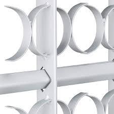 Relaxdays Fenstergitter Einbruchschutz Ausziehbar Aussen Verzinkt