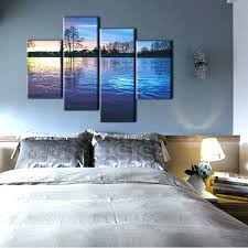 bedroom canvas large landscape canvas prints horizontal wall art panel nature with landscape canvas prints bedroom wall bedroom canvas painting bedroom