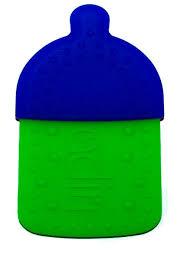 Купить <b>Прорезыватель Adiri Bottle Teething</b> Ring cyan-green по ...