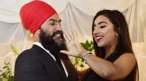 By looking at gurkiran kaur sidhu's instagram, we can see it was a glorious event. Federal Ndp Leader Jagmeet Singh Pops The Question And Gurkiran Kaur Sidhu Says Yes The Star