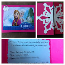 make your own frozen invitations pictures of handmade frozen party invitations www kidskunst info