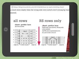 How To Read A Knitting Pattern Custom 48 Ways To Read A Knitting Pattern WikiHow