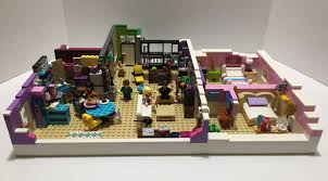 Lego Ideas Product Ideas Monica And Rachels Apartment