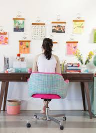 How to decorate your office Ways Whimsy Pop Desk By Oh Joy Homedit Vibrant Ways To Decorate Your Desk Self